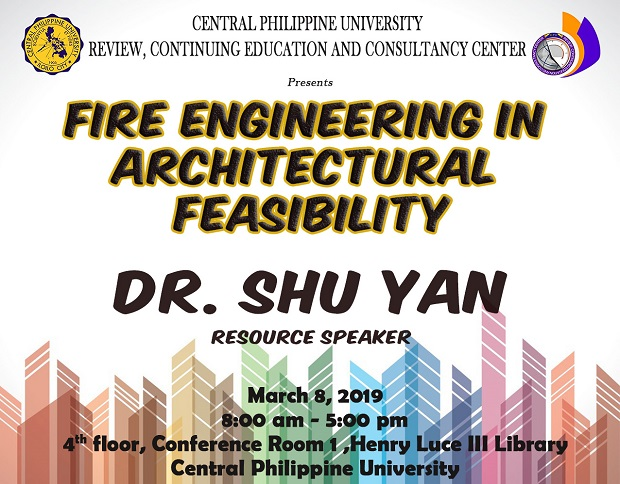 Register here for the Fire Engineering in Architectural Feasibility Seminar