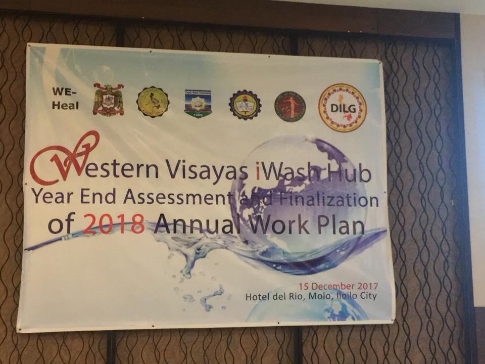 Western Visayas iWash Hub Venuw Tarpaulin